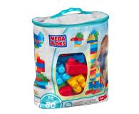 Mega Bloks Klocki 80 el torba niebieska NEW - 331359 - zdjęcie 2