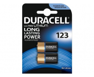 Duracell Photo CR123 Ultra M3 2 szt - 329071 - zdjęcie 1
