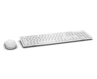 Dell KM636 Wireless Keyboard and Mouse (biała) - 332974 - zdjęcie 2