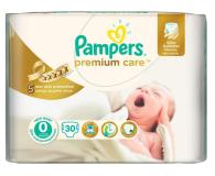 Pampers Premium Care 0 Newborn do 2,5kg 30szt - 189228 - zdjęcie 1