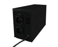 Qoltec UPS (600VA/360W, IEC, 2xSchuko, LCD) - 337980 - zdjęcie 2