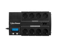 CyberPower UPS BR700ELCD-FR (700VA/420W, 8xFR, AVR) - 338486 - zdjęcie 2