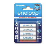 Panasonic Eneloop R03/AAA 750 mAh (4 sztuki)  - 293297 - zdjęcie 1