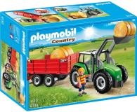 PLAYMOBIL Duży traktor z przyczepą - 301198 - zdjęcie 2