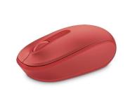 Microsoft 1850 Wireless Mobile Mouse Czerwień Ognia - 185692 - zdjęcie 2