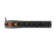 HSK DATA Acar P7 - 7 gniazd, 1,5m, czarna - 30017 - zdjęcie 2