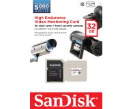 SanDisk 32GB microSDHC High Endurance 20MB/s - 315280 - zdjęcie 2