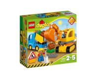 LEGO DUPLO Ciężarówka i koparka gąsienicowa - 318235 - zdjęcie 1