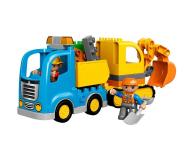 LEGO DUPLO Ciężarówka i koparka gąsienicowa - 318235 - zdjęcie 3