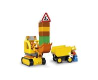 LEGO DUPLO Ciężarówka i koparka gąsienicowa - 318235 - zdjęcie 4
