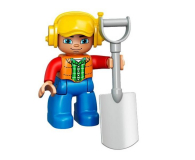 LEGO DUPLO Ciężarówka i koparka gąsienicowa - 318235 - zdjęcie 6