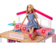 Barbie Duży Domek dla lalek z akcesoriami i lalką - 344589 - zdjęcie 3