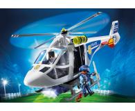 PLAYMOBIL Helikopter policyjny z reflektorem LED - 344866 - zdjęcie 2