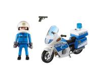 PLAYMOBIL Motor policyjny ze światłem LED - 344868 - zdjęcie 3