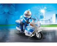 PLAYMOBIL Motor policyjny ze światłem LED - 344868 - zdjęcie 2