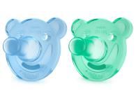 Philips Avent Smoczek Ortodontyczny 0-3m+ 2szt Niebieski - 350550 - zdjęcie 9