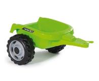 Smoby Traktor na pedały XL z przyczepą zielony  - 349282 - zdjęcie 3