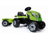 Smoby Traktor na pedały XL z przyczepą zielony  - 349282 - zdjęcie 6