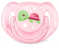Philips Avent Smoczek Ortodontyczny 6-18m+ 2szt Różowy - 356453 - zdjęcie 3