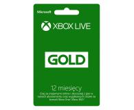 Microsoft Abonament Xbox Live GOLD 12 miesięcy (kod) - 162978 - zdjęcie 1