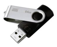 GOODRAM 64GB UTS2 odczyt 20MB/s USB 2.0 czarny  - 303207 - zdjęcie 2