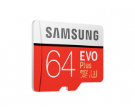 Samsung 64GB microSDXC Evo Plus zapis60MB/s odczyt100MB/s  - 360784 - zdjęcie 2