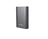 ADATA Power Bank 10050 mAh tytanowy z quickcharge (AA10050Q-USBC-5V-CTI)