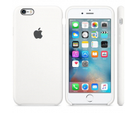 Apple iPhone 6s Silicone Case biały (MKY12ZM/A)