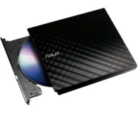ASUS SDRW-08D2S-U Slim USB czarny BOX (SDRW-08D2S-U LITE/BLK/G/AS)