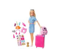Barbie Lalka w podróży + akcesoria (FWV25)