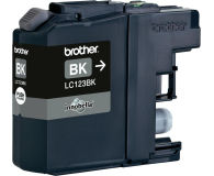 Brother LC123BK black 600str. (J152W/J4110DW/J4410DW/J4510DW/J470DW/J552DW)
