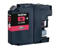 Brother LC123M magenta 600str. (J152W/J4110DW/J4410DW/J4510DW/J470DW/J552DW)