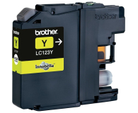 Brother LC123Y yellow 600str. (J152W/J4110DW/J4410DW/J4510DW/J470DW/J552DW)