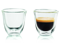 DeLonghi Filiżanki do espresso Delonghi 2 szt. (2 GLASS ESPR. 60ML)