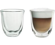 DeLonghi Szklanki do cappucino zestaw 2 sztuki  (2 GLASS CAPP. 190ML)
