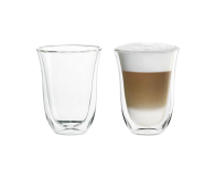 DeLonghi Szklanki do latte machiatto zestaw 2 sztuki (2 GLASS LATTE 220ML)