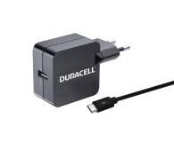 Duracell Ładowarka sieciowa USB 2,4A + kabel microUSB 1m (DMAC10-EU)