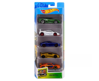 Hot Wheels Exotics pięciopak  (1806 FKT62 )