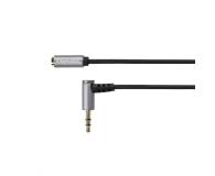 Kruger&Matz Wtyk kątowy - gniazdo Jack 3,5mm stereo 3,0m  (KM0317)