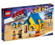 LEGO Movie Dom Emmeta/Rakieta ratunkowa (70831)