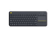 Logitech Wireless Touch K400 Plus czarna (920-007145)