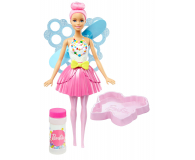 Mattel Barbie Dreamtopia Bąbelkowa wróżka jasny róż (DVM94 DVM95)