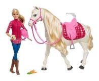 Mattel Barbie Interaktywny Koń z Lalką (FRV36)