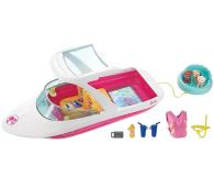 Mattel Barbie Wakacyjny Jacht z pieskami (FBD82)