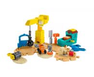 Mattel Bob Budowniczy Plac Budowy + piasek kinetyczny (DMM55)