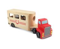 Melissa & Doug Ciężarówka z przyczepą dla koni (14097)