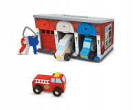 Melissa & Doug Garaż z pojazdami ratunkowymi i kluczami (14607)