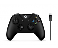 Microsoft Pad XBOX One kontroler Bluetooth + kabel PC (4N6-00002 )