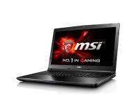 MSI GL72 i7-7700HQ/8GB/1TB GTX960M FHD  (GL72 7QF-1005XPL)