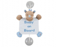 "Nattou Zawieszka ""Baby on Board"" Nosorożec Louis ( NT644358)"